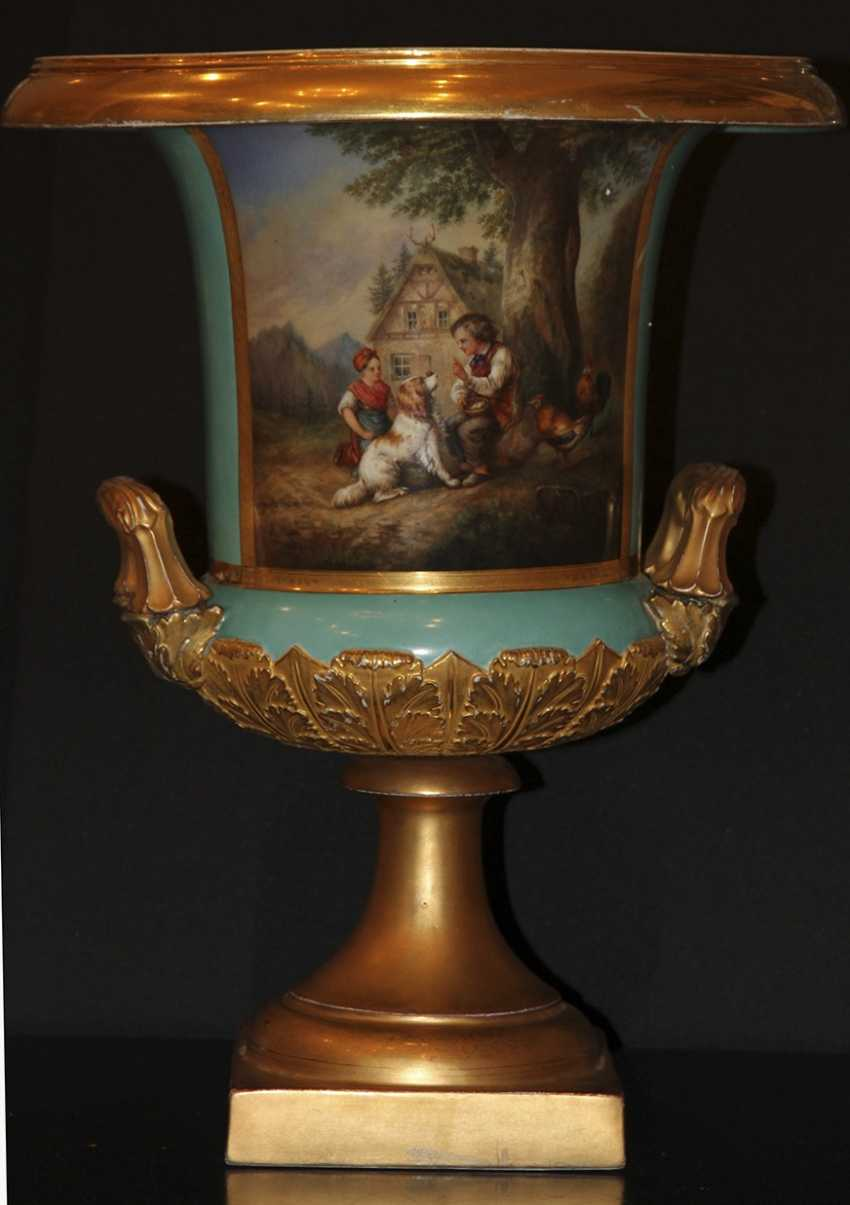 Vase. 1862. The Imperial porcelain factory - photo 1