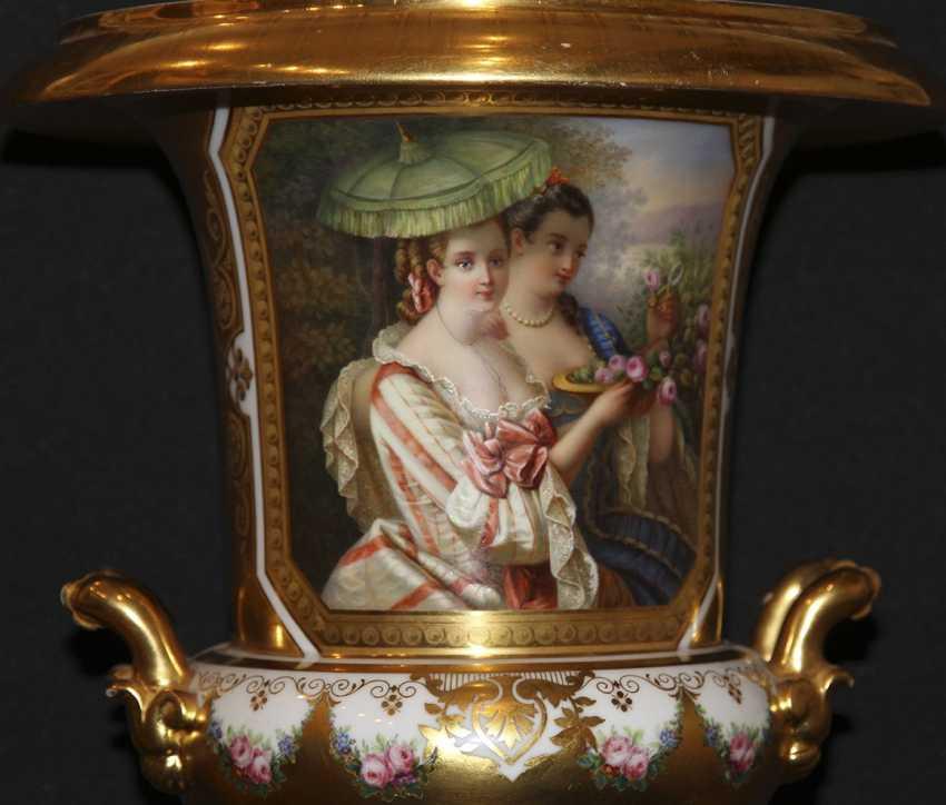 Vase mit einer Miniatur. Kaiserliche Porzellan-h-D - Foto 2