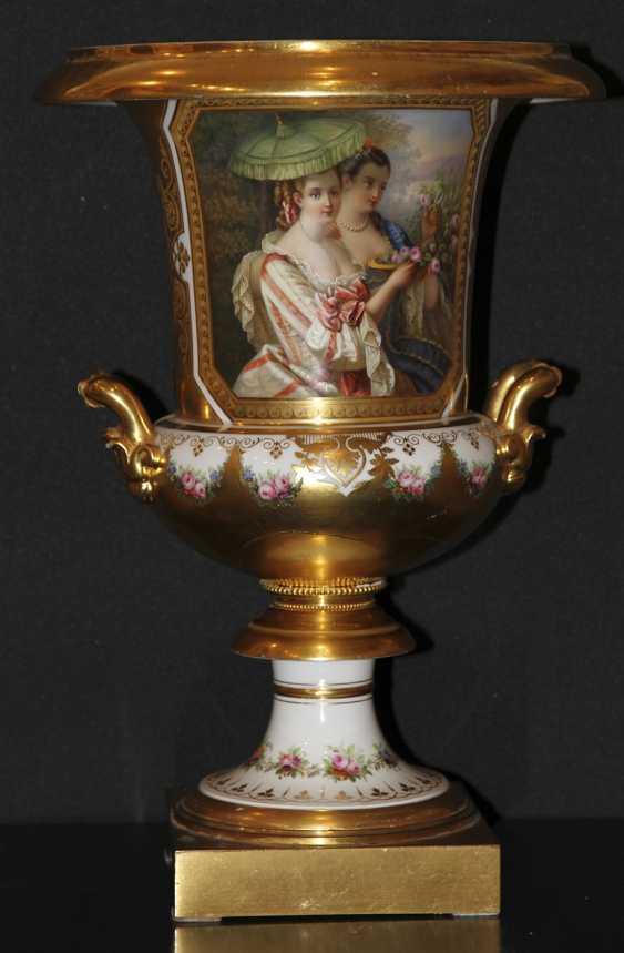 Vase mit einer Miniatur. Kaiserliche Porzellan-h-D - Foto 1