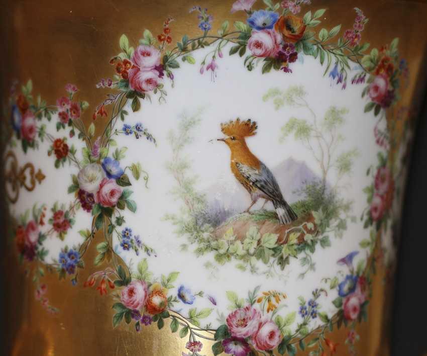 Vase mit einer Miniatur. Kaiserliche Porzellan-h-D - Foto 4