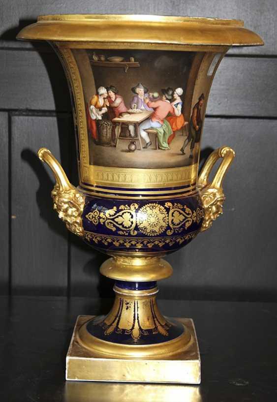 Vase miniature. La manufacture de porcelaine impériale de la période N I - photo 1