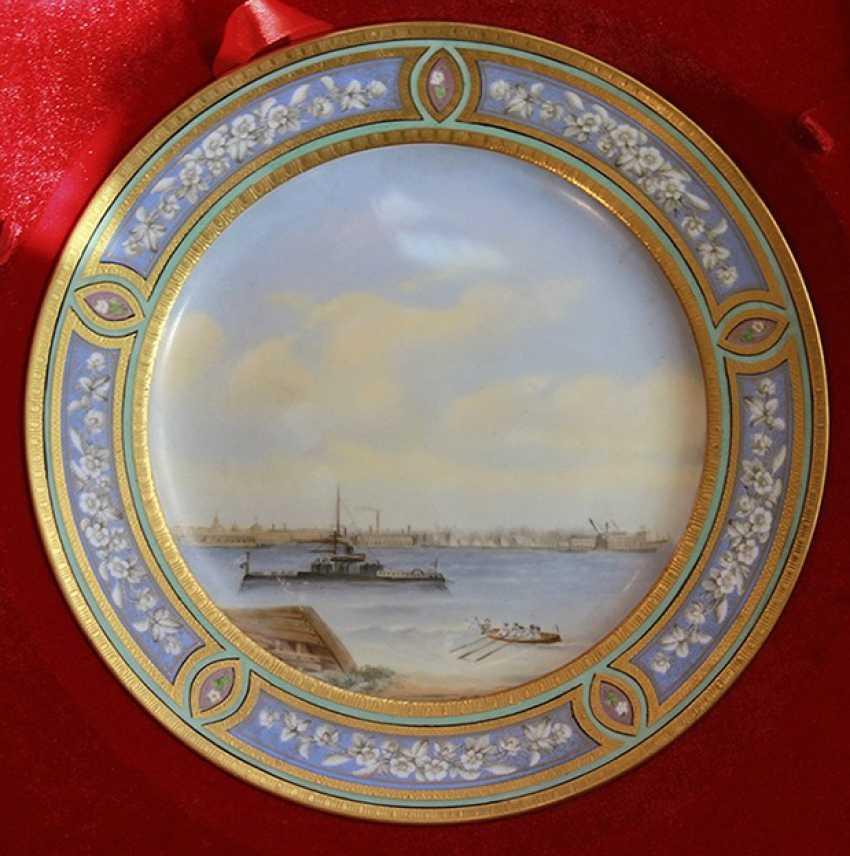"""Plate """"Kronstadt"""", IPE - photo 1"""