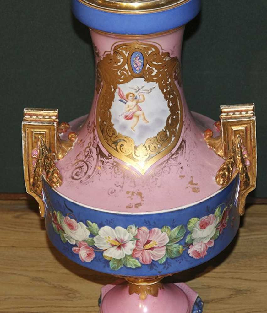 Vase with floral decor, Imperial porcelain factory - photo 2