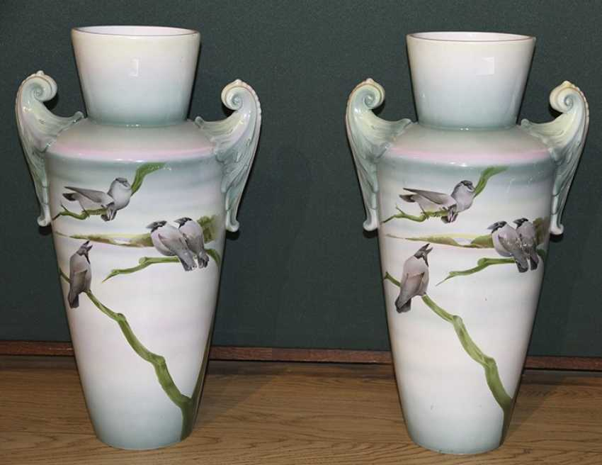"This pair of vases ""Ravens"". The Plant Kuznetsova - photo 1"