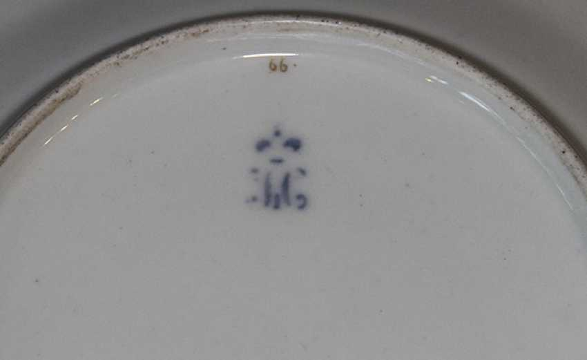Plate with flowers and fruits, IPE - photo 2