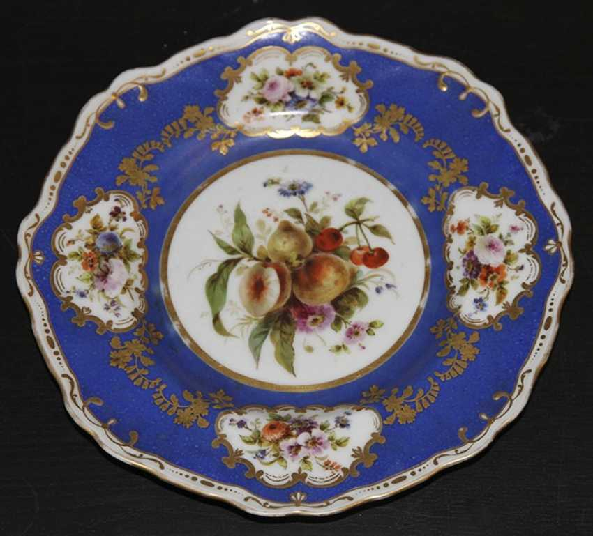 Plate with flowers and fruits, IPE - photo 1