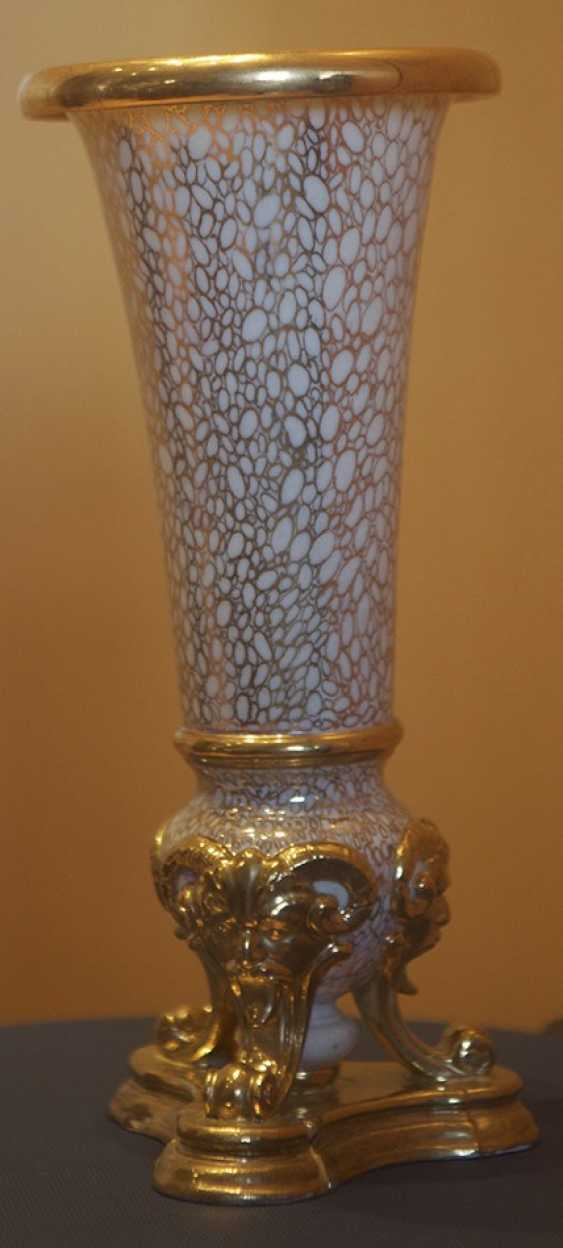 Vase with opal inlay. The Imperial porcelain factory - photo 1