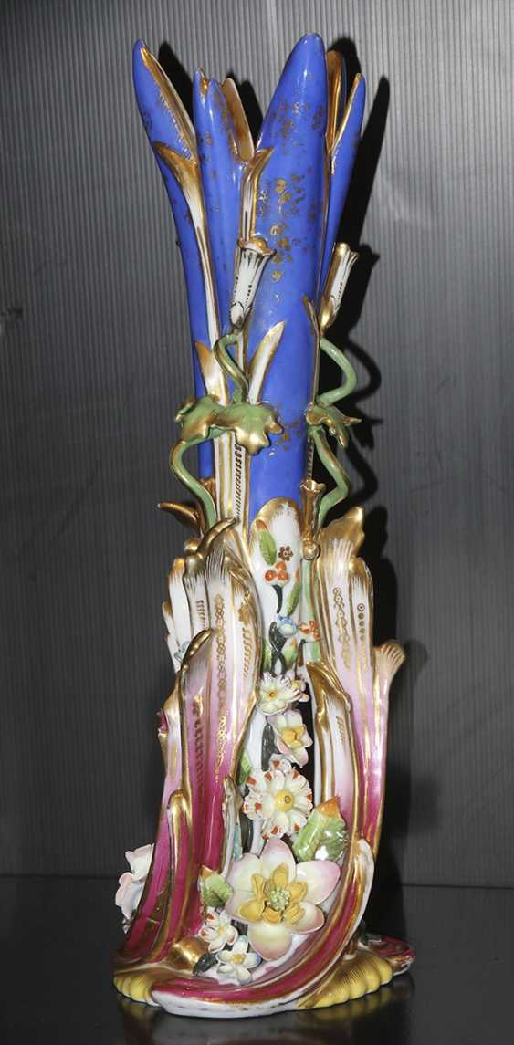 Vase with flowers and pottery. Z-d Br.Kornilov? - photo 1