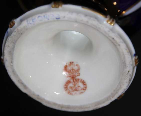 Vase with floral decoration. The Gardner Factory - photo 2