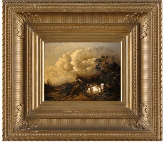 Western Europe, late XIX century, oil on wood - photo 1