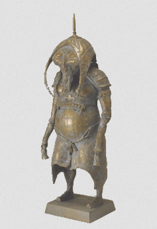 """Dashi Namdakov """"Old warrior"""" - photo 1"""
