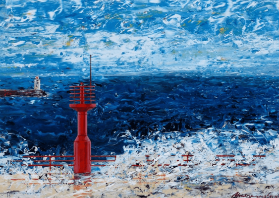"Sergey Milokumov ""Lighthouse. Yalta"" - photo 1"