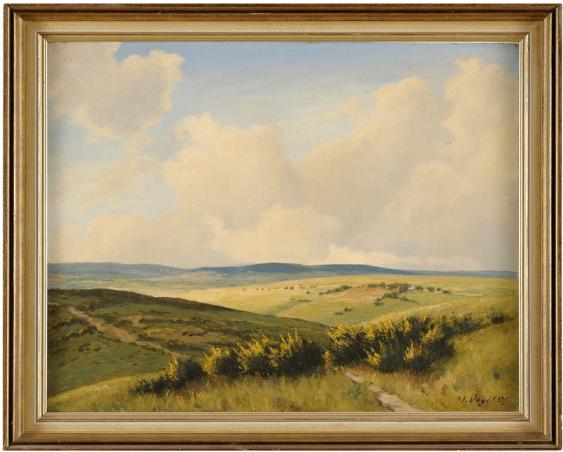Werner Vogel (1889 - 1957) Germany, 1920 - 1930 - ies, oil on canvas - photo 1