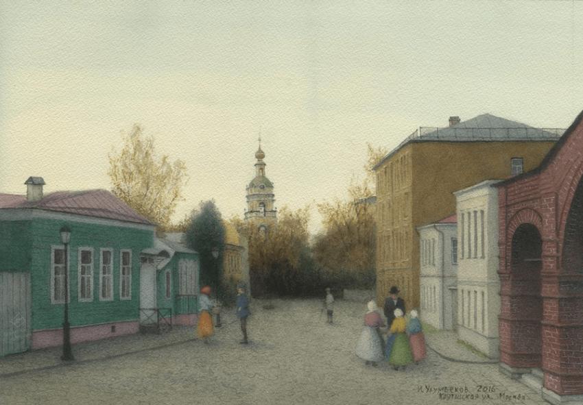 """Iskander of Ulumbekov """"Krutitskaya street"""" - photo 1"""