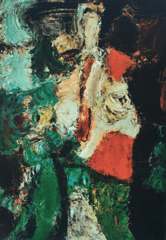 """Valery Sakhatov """"Figure in a landscape"""" - photo 1"""