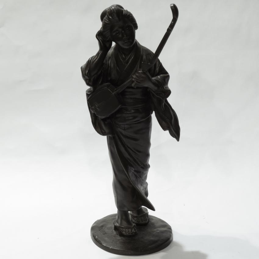 Female figure 19th century, Japan - photo 1