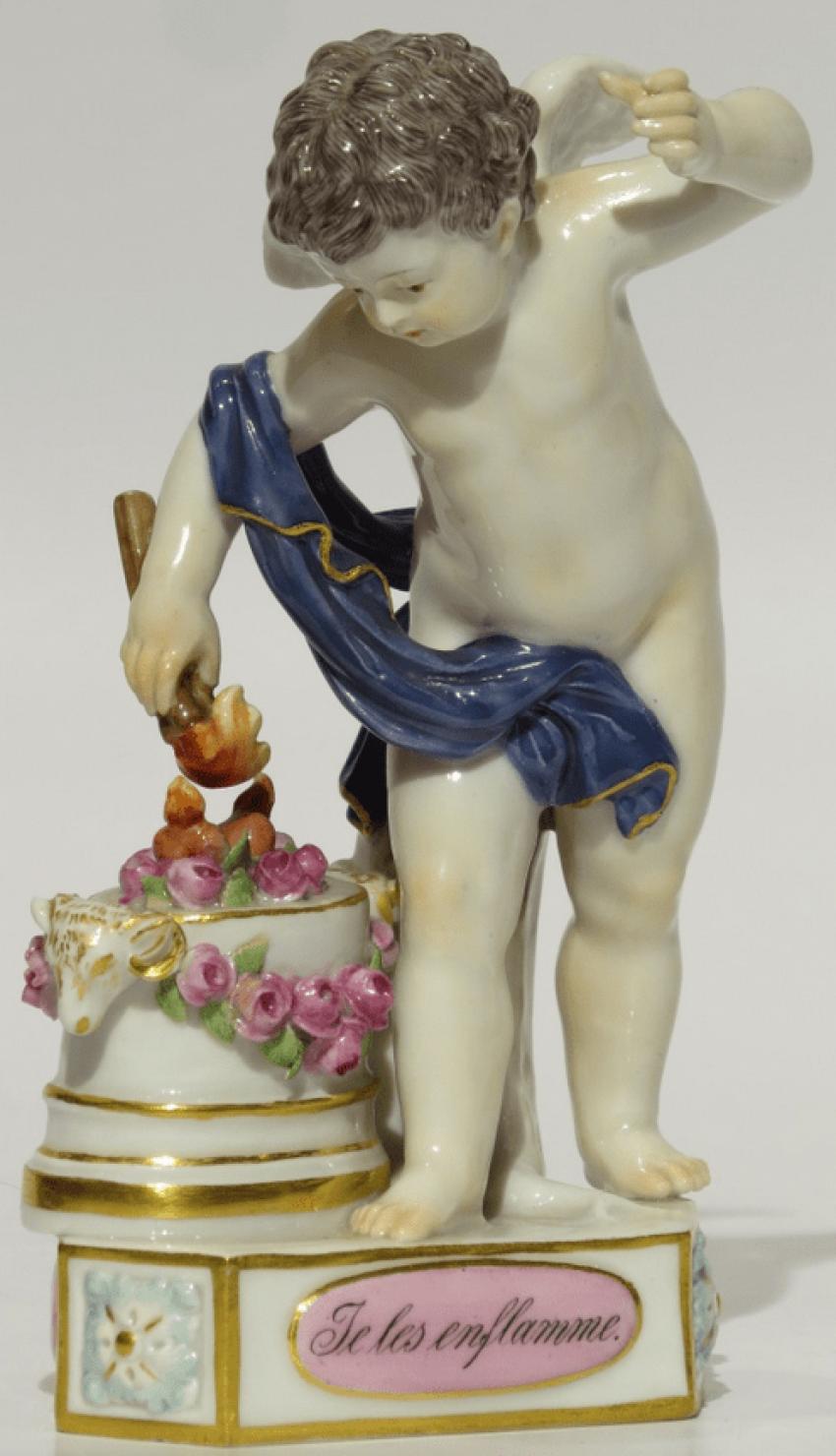 porcelain. 19th century Meissen. - photo 1