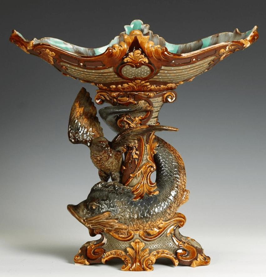 Le vase. 19 siècle Faïences - photo 1