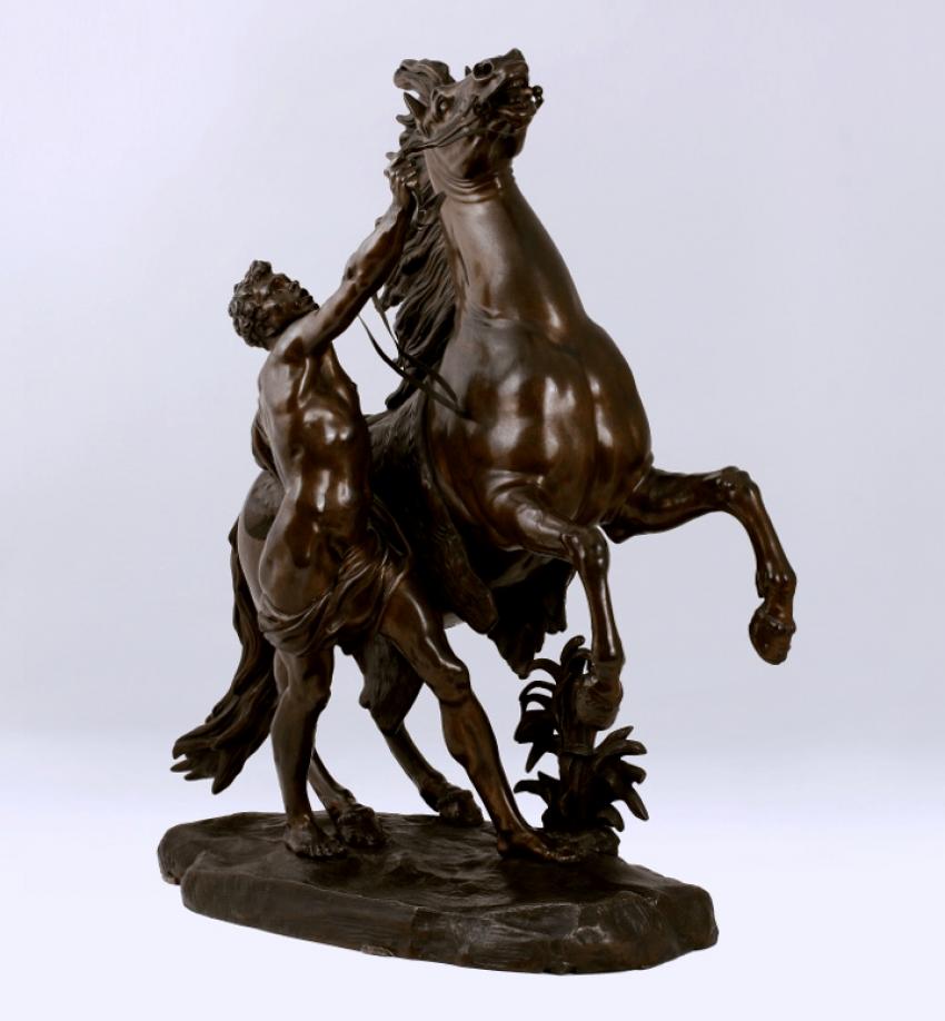 Skulptur «Pferde MARLA» Guillaume Busch - Foto 1