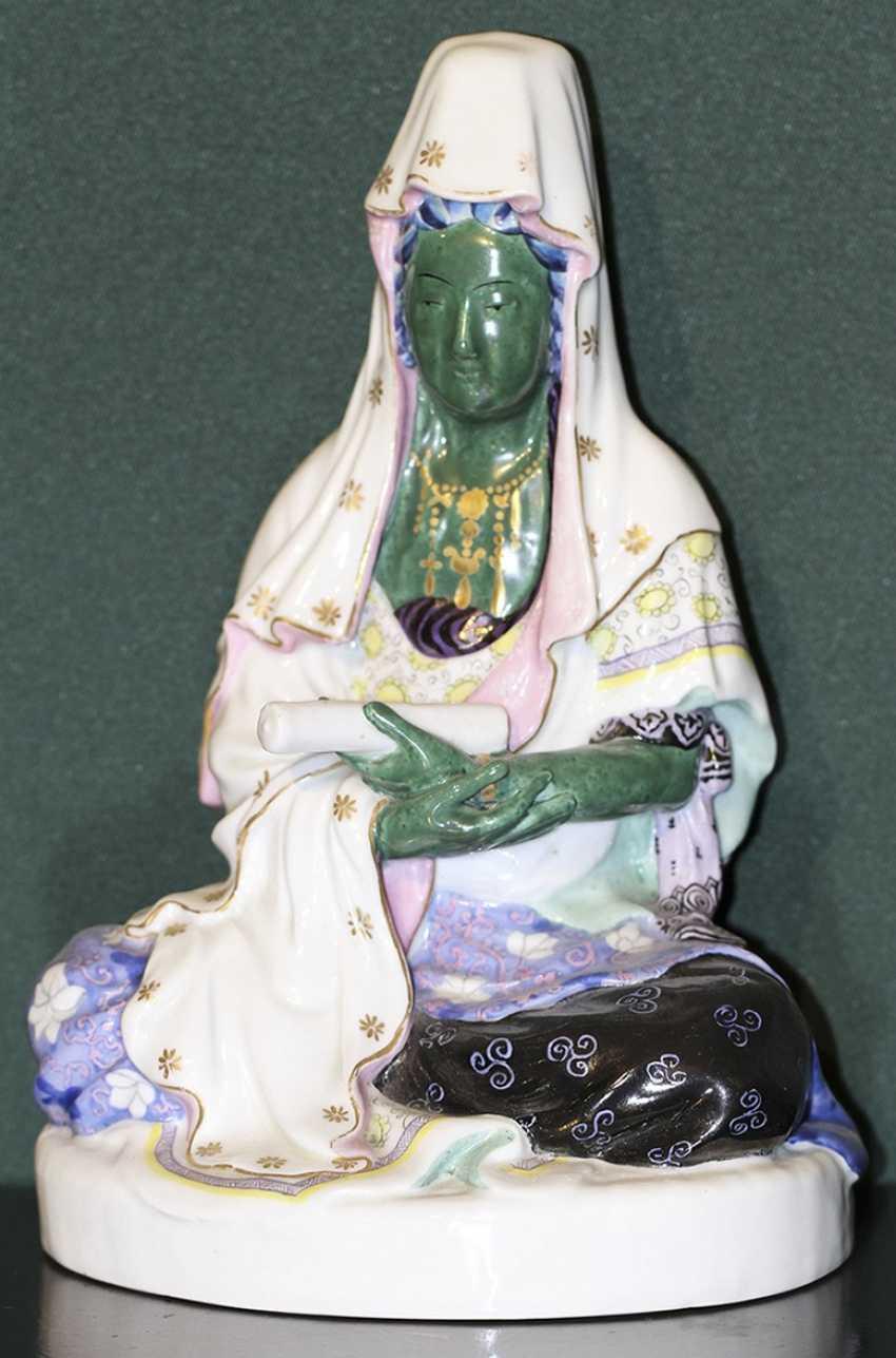 """The sculpture (a statue) """"the Goddess Guan-Yin"""", N.Danko 1920-ies - photo 1"""