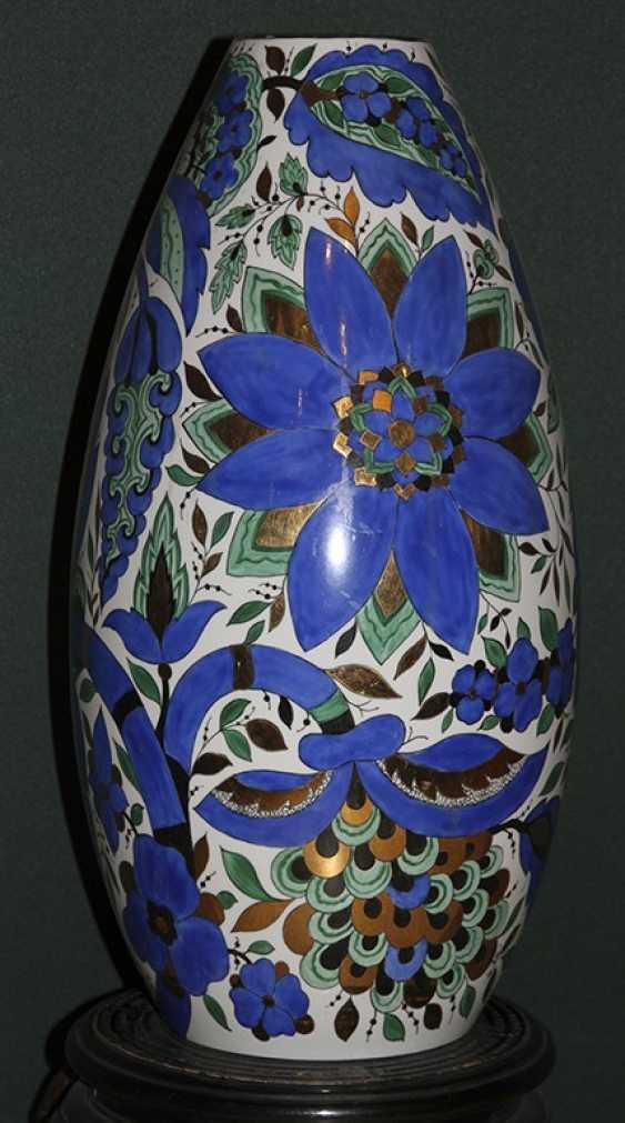 Vase blue with green. A. vorobyevsky, LFZ - photo 1