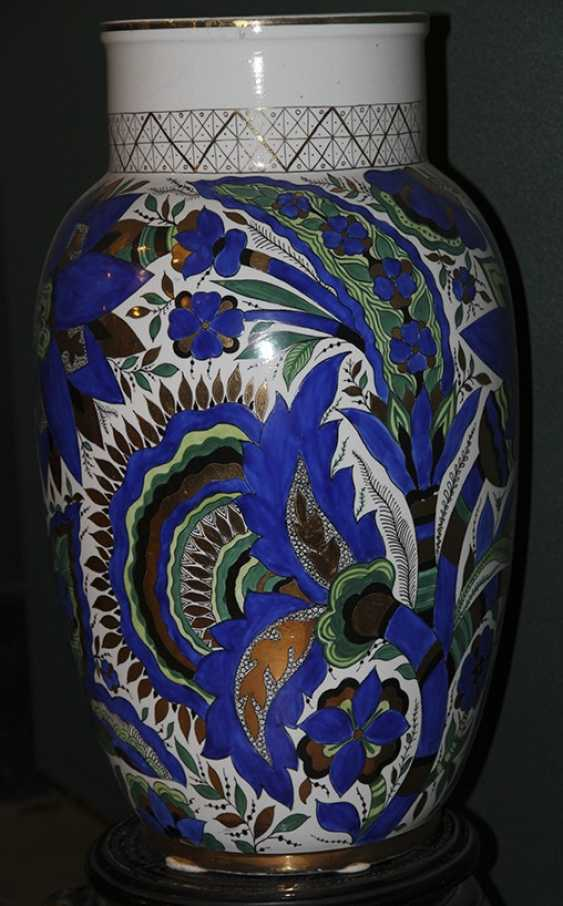 Vase blue with green. A. vorobyevsky, LFZ - photo 2