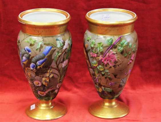 Pair of vases, XIX century - photo 1
