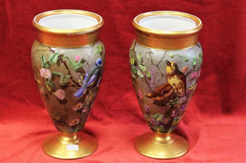 Pair of vases, XIX century - photo 2