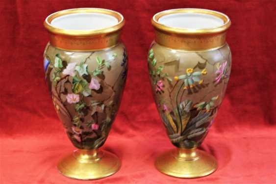 Pair of vases, XIX century - photo 3