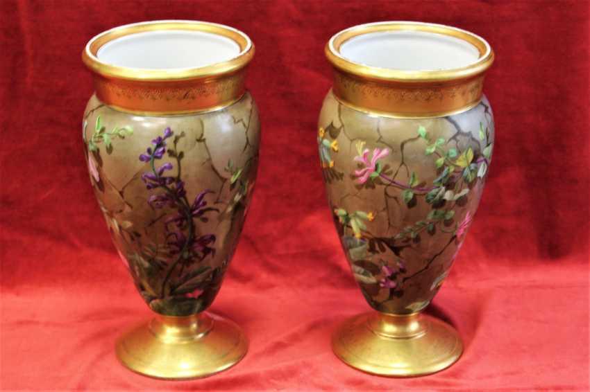 Pair of vases, XIX century - photo 4