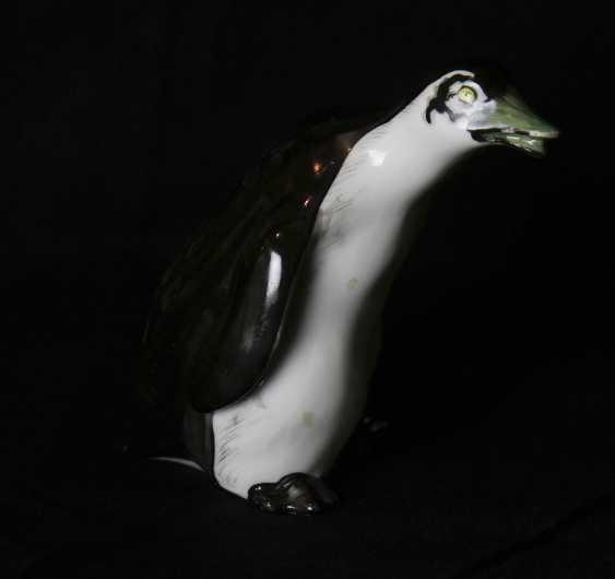 Sculpture (figurine) of a penguin. N. Koltsov, 1920-ies - photo 2