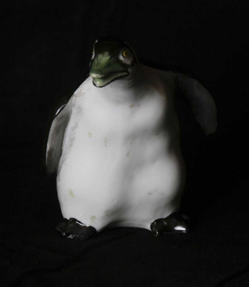 Sculpture (figurine) of a penguin. N. Koltsov, 1920-ies - photo 3