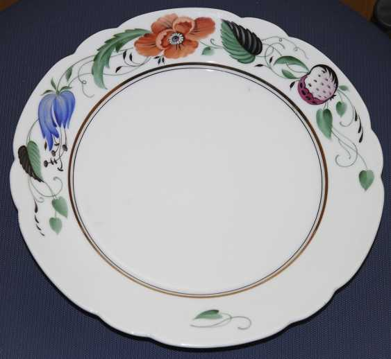Plate with flowers. 1925 to Fig. S. Chekhonin - photo 1