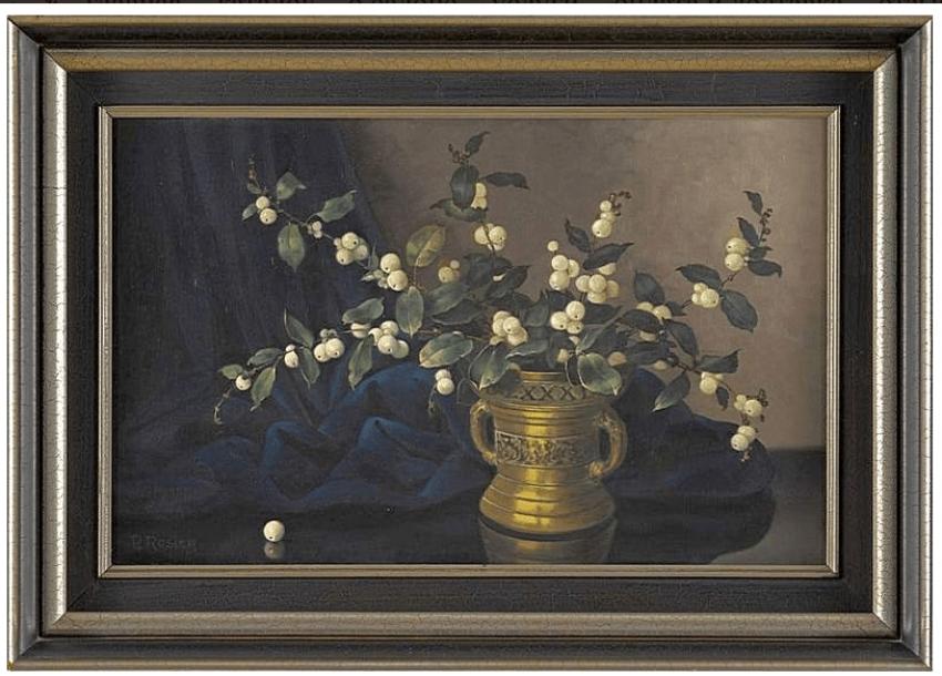 author: P. Rozier, Western Europe, mid XX century, canvas, oil - photo 1