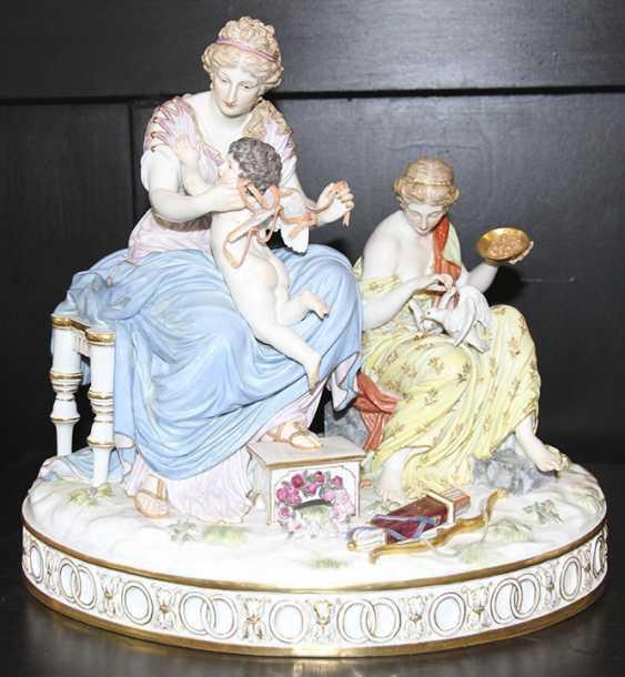 Pair of sculpture (figurine), meißen - photo 1