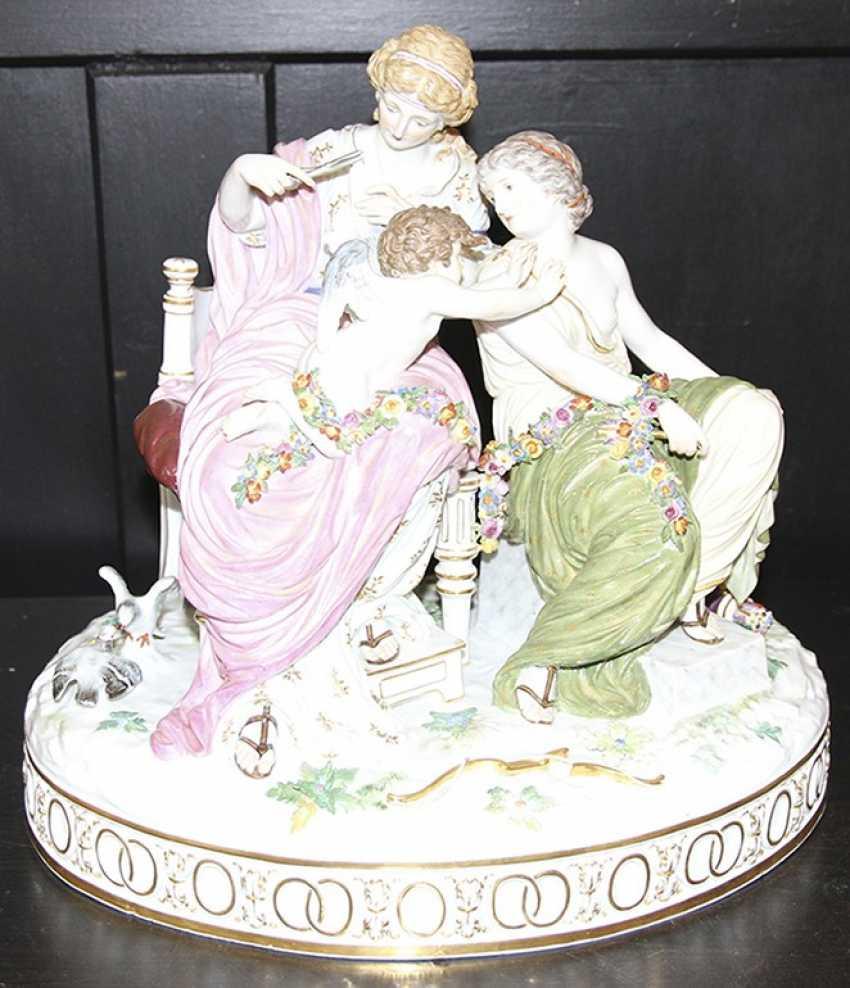 Pair of sculpture (figurine), meißen - photo 4