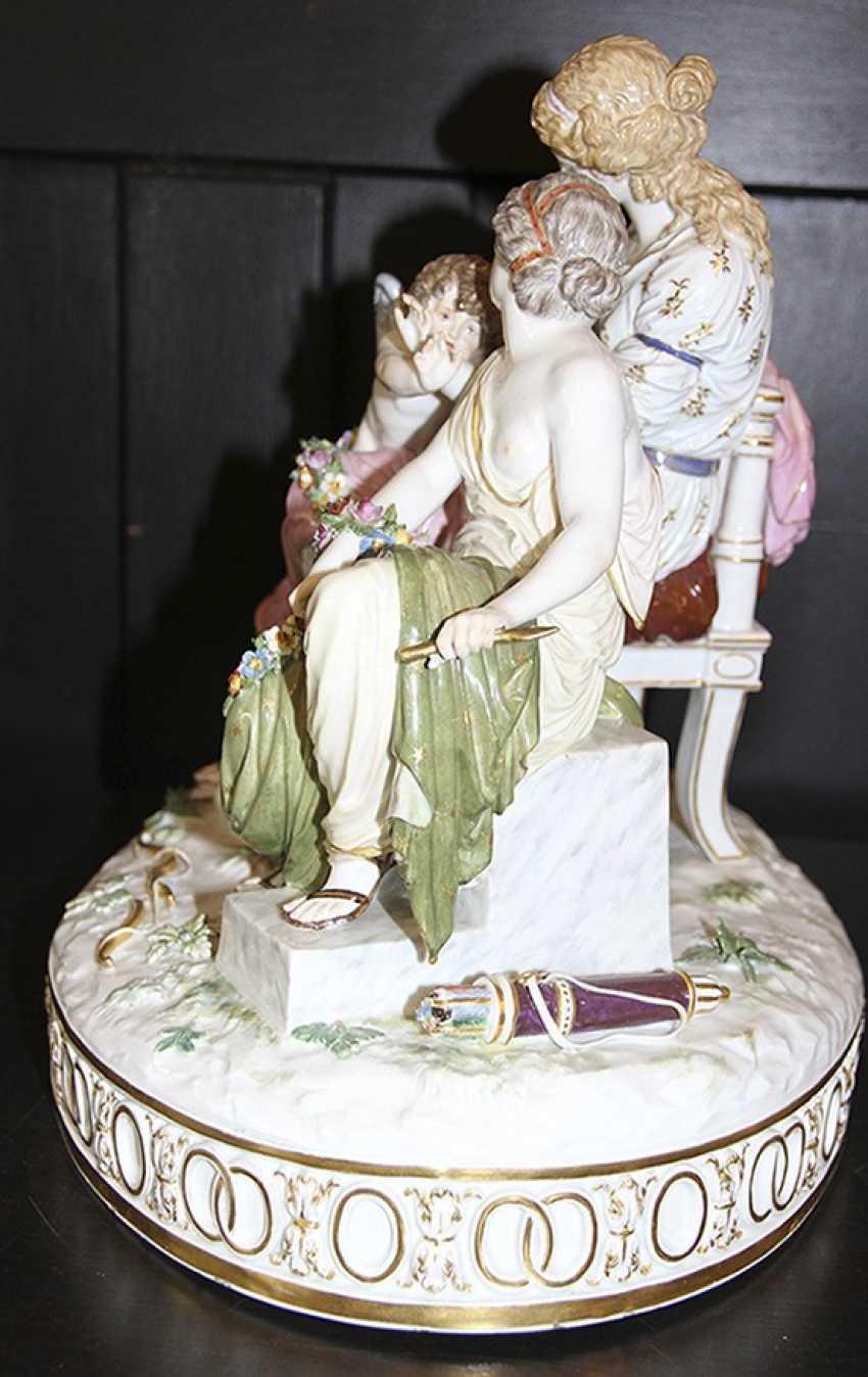 Pair of sculpture (figurine), meißen - photo 5