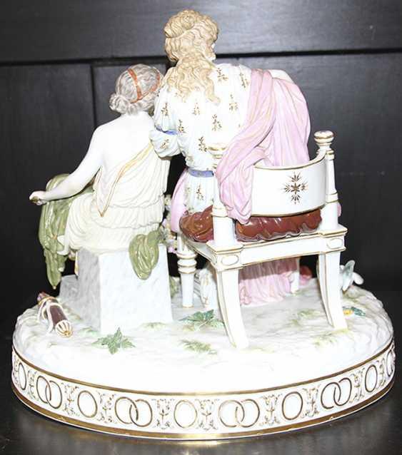 Pair of sculpture (figurine), meißen - photo 6