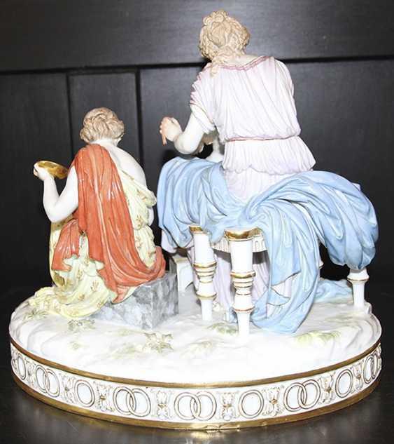 Pair of sculpture (figurine), meißen - photo 9