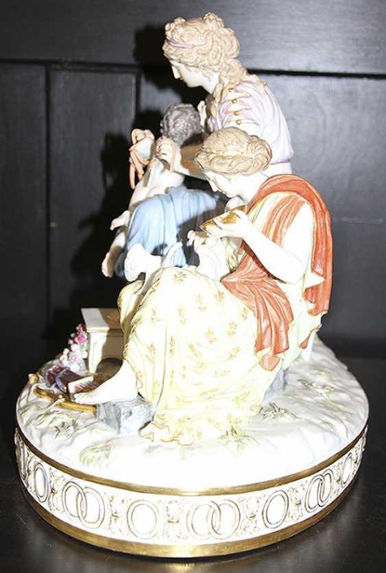 Pair of sculpture (figurine), meißen - photo 10