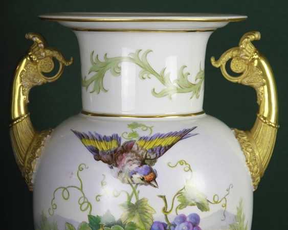 Vase with bird and fruit. KPM, the second half of the XIX century - photo 3