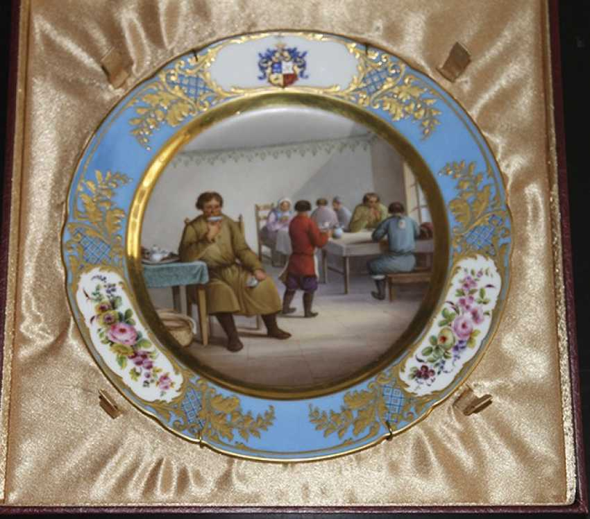 "Plate ""In a restaurant"" - photo 1"