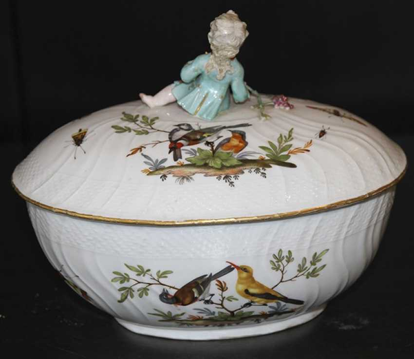 The tureen. Meissen, late 18th century - photo 2