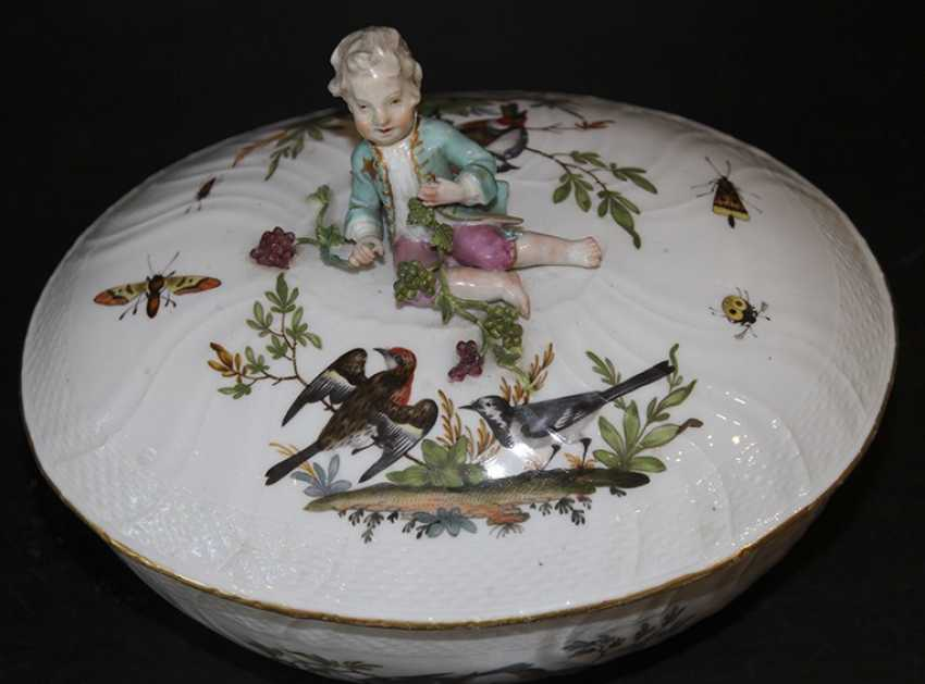 The tureen. Meissen, late 18th century - photo 3