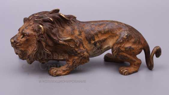 "The sculpture ""lion"", Europe, 19th century, bronze - photo 3"