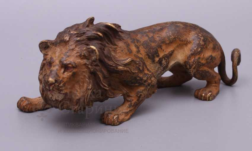 "The sculpture ""lion"", Europe, 19th century, bronze - photo 1"