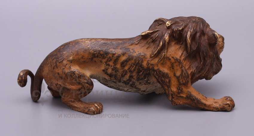 "The sculpture ""lion"", Europe, 19th century, bronze - photo 4"