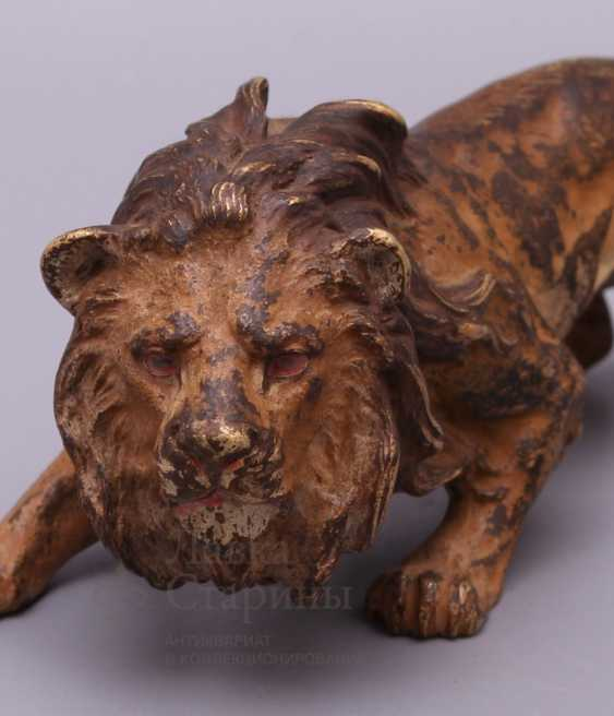 "The sculpture ""lion"", Europe, 19th century, bronze - photo 2"