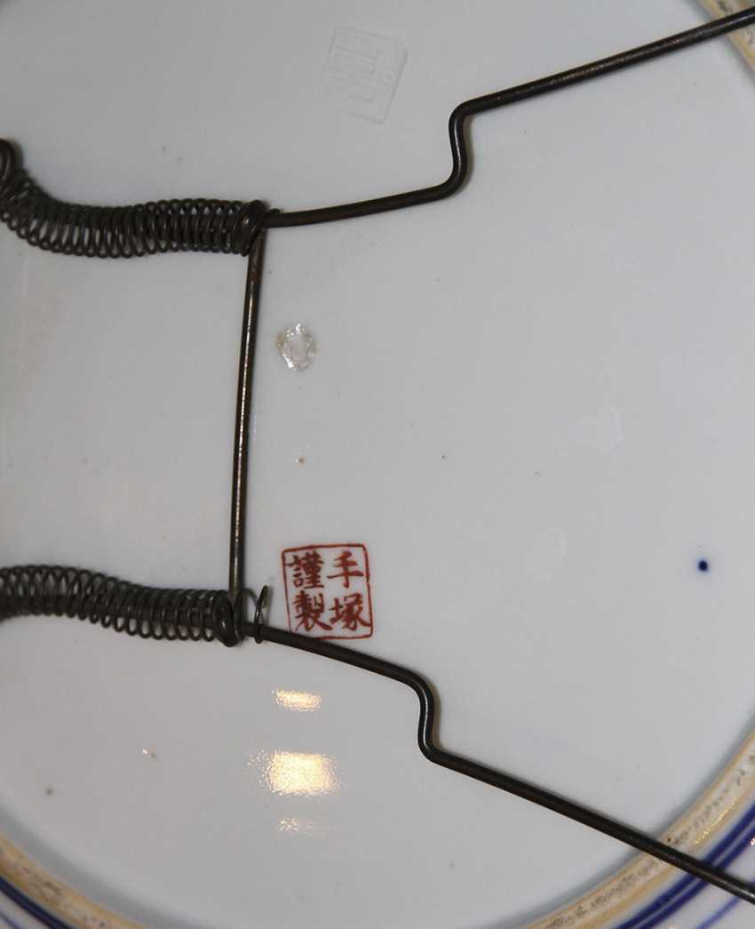 A pair of wall plates. Japan - photo 2