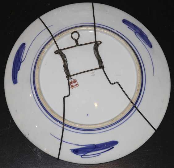 A pair of wall plates. Japan - photo 3